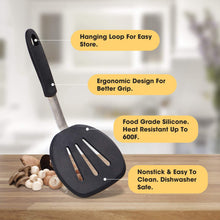 Load image into Gallery viewer, MICHELANGELO 4-Piece Silicone Spatula Turner Set Kitchen Tools