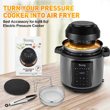 Load image into Gallery viewer, MICHELANGELO Air Fryer Lid for Pressure Cooker 6 Quart 8Quart