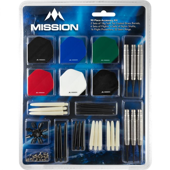 Mission - 90 Piece Accessory Kit - Starterset