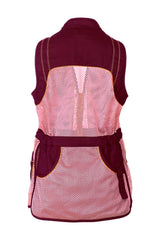 Seeland Technical Shooting Vests Seeland Skeet II Lady Waistcoat Clay Vest Bitter Chocolate