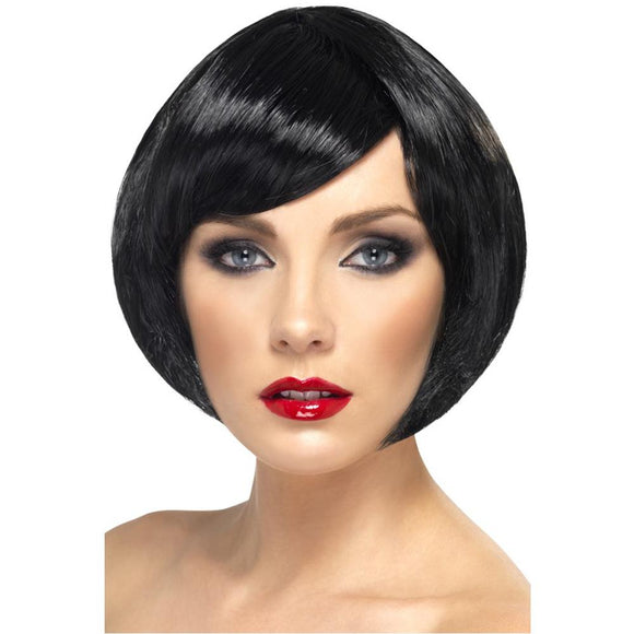 Babe Wig - Black - China Doll Bob