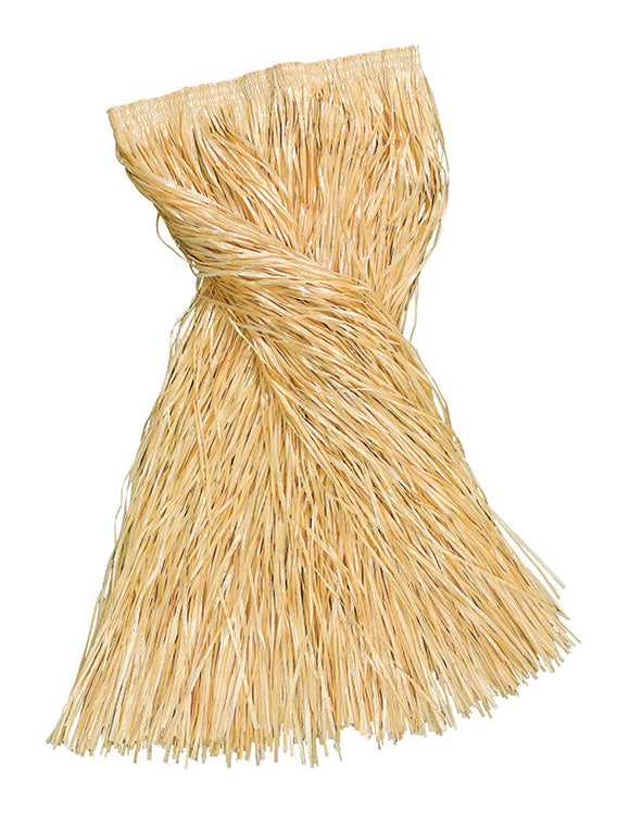 Grass Skirt - 80cm Plain Long - Grass Colour