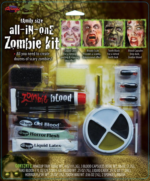 All-in-One Horror Kit Makeup