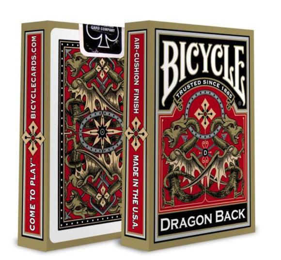 Bicycle Cards - Gold Dragon Edition