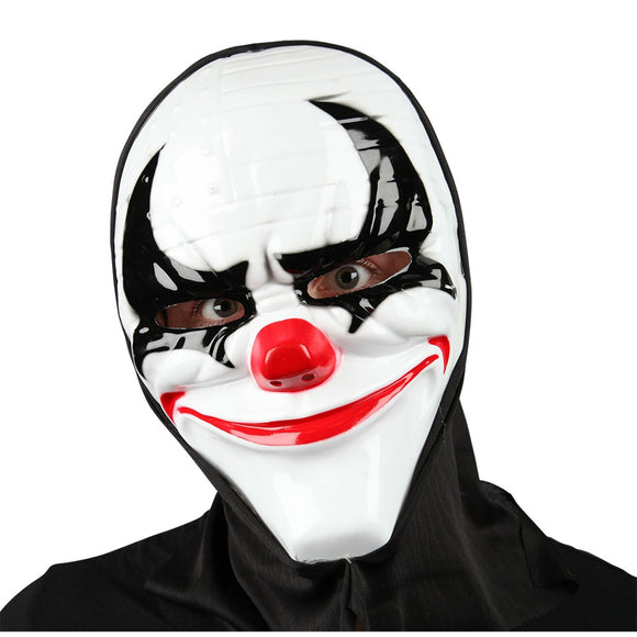 Freaky Clown Mask with Hood