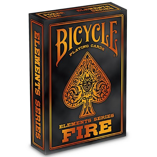 Bicycle Cards - Fire