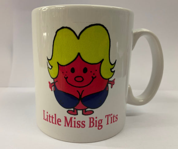 Little Miss Big Tits - Naughty Mr Men Mug