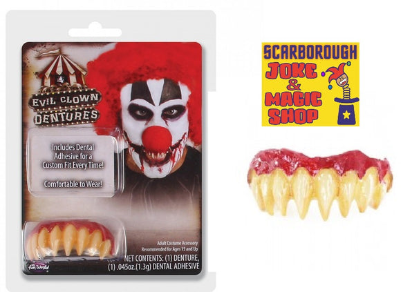 Evil Clown Teeth - Fangs