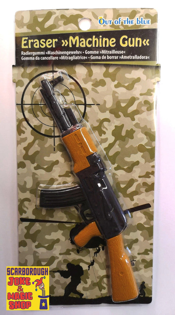 AK47 Machine Gun Rubber Eraser
