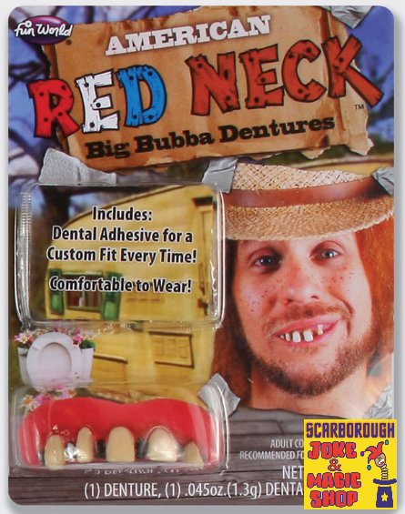 Big Bubba Red Neck Teeth