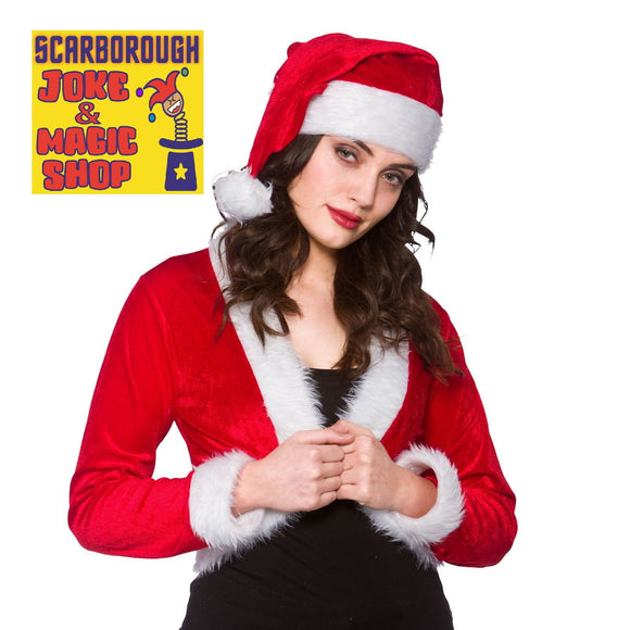 Cute Miss Santa Shrug & Hat