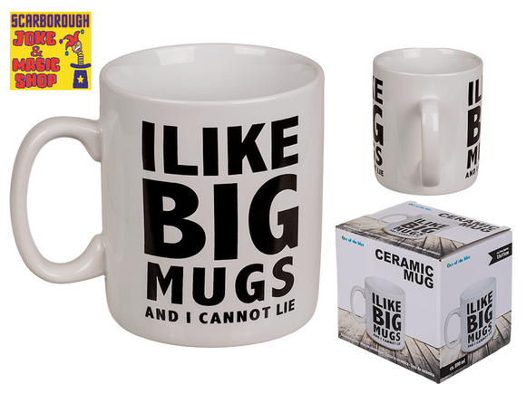 I Like Big Mugs and I Cannot Lie XL Large Mug