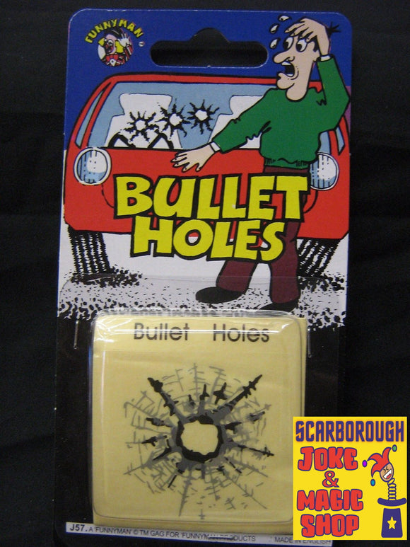 Bullet Holes - Pack of 3