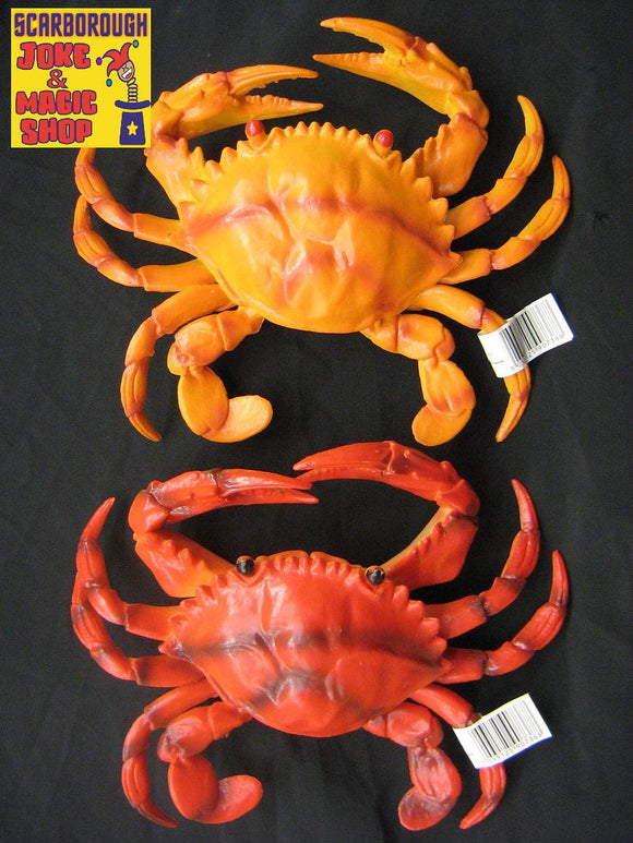 Crab Life Size - Realistic Toy Prop - Assorted Colours Available