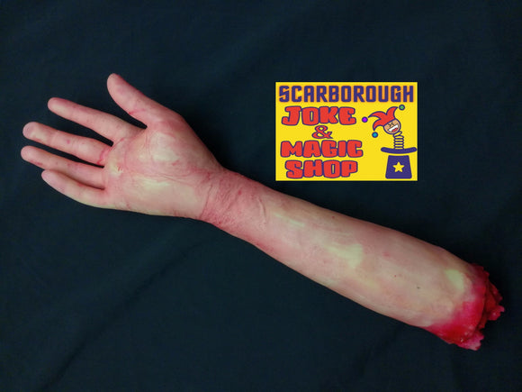 Severed Arm - Realistic Halloween Horror Prop