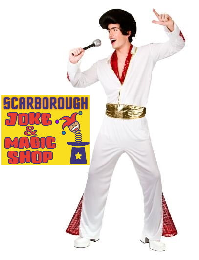 King of Rock N' Roll Costume - Elvis Presley Style