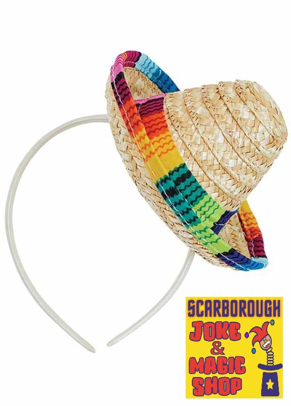 Mini Sombrero - Mexican Hat on Headband