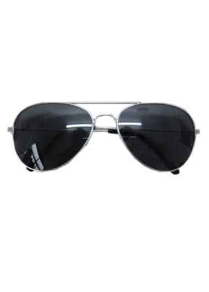 Aviator Shades - Black Shaded Sunglasses