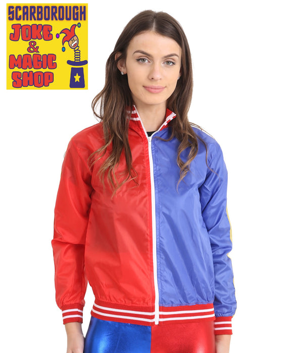 Blue & Red Jacket - Harley Quinn Style