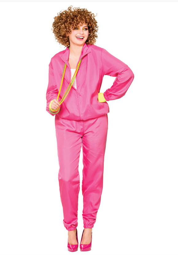 80's Shell Suit Lady Costume