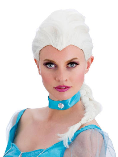 Magical Frozen Princess Wig