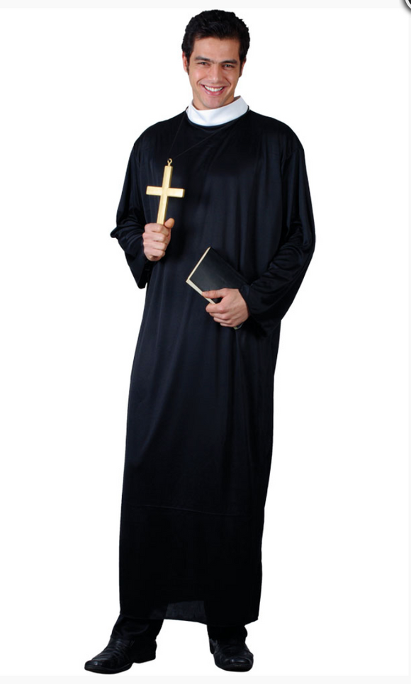 Father Priest Costume