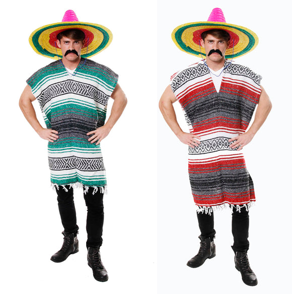 Authentic Mexican Poncho