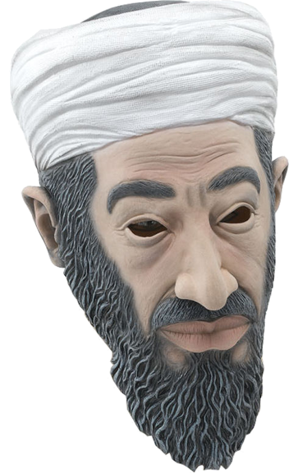Bin Laden Mask - Terrorist Fancy Dress!