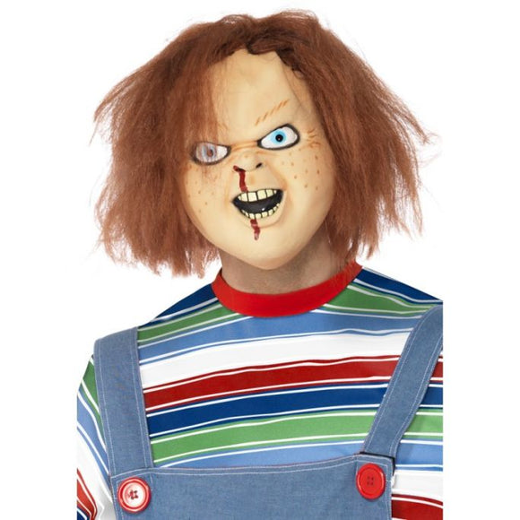 Chucky Mask with Hair - Officially Licensed Child's Play 2 Mask