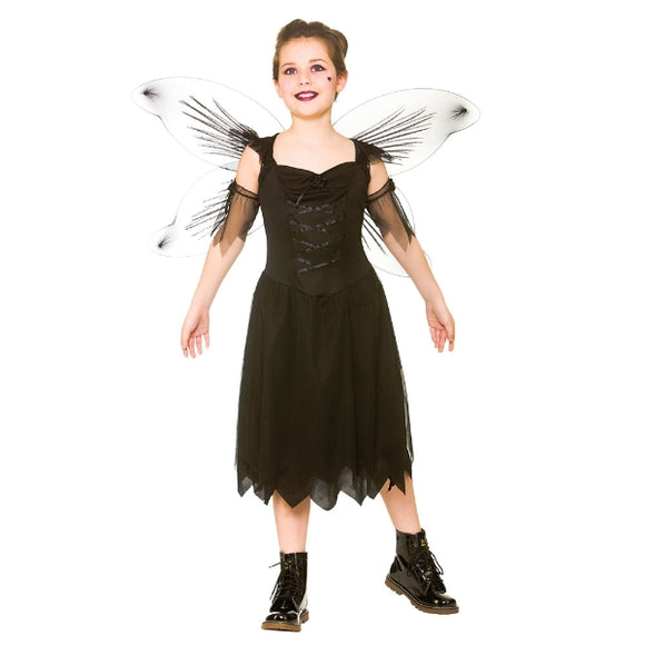 Dark Fairy Costume - Kid's