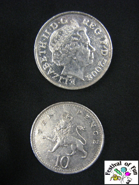Double Sided 10p Coin