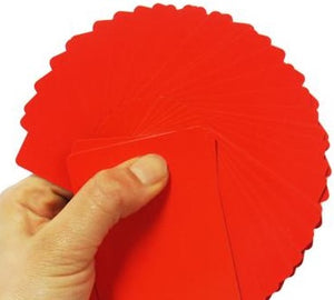Fanning/Manipulation Cards - Several Plain Colours Available