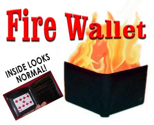 Fire Wallet - Deluxe Quality