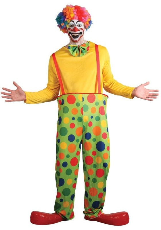 Funny Clown Costume - One Size Fits Most