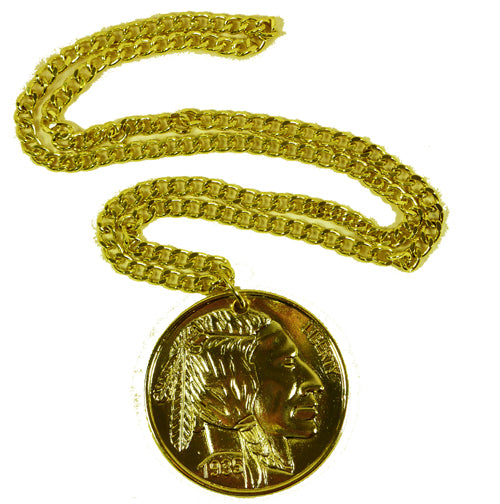Gold Coin Medallion