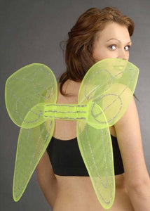 Angel Fairy Wings - Green Pixie Tinkerbell Style