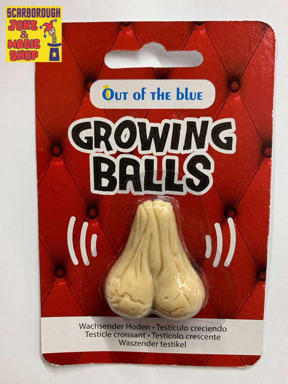 Grow a Pair of Balls/Testicles