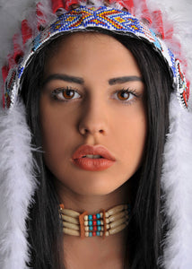 Indian Choker - Native American Necklace