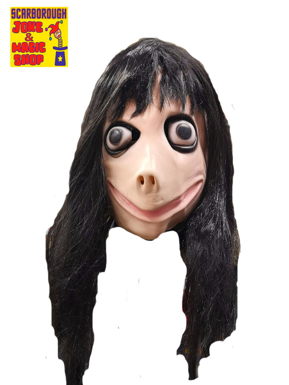 Momo Mask w. Hair - Economy