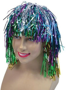 Tinsel Wig - Multi