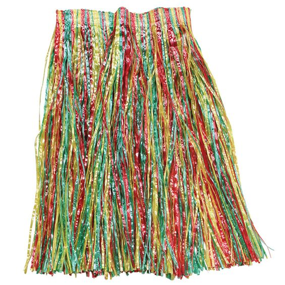 Grass Skirt - 56cm Multicoloured