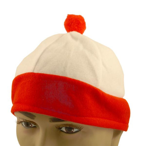 Bobble Hat - Red & White - Where's Wally/Waldo Style