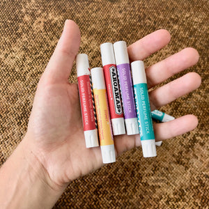 Aroamas perfume sticks in hand