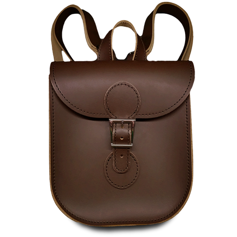 Backpack: Chocolate Brown