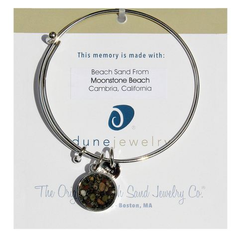 Beach Bangle: Moonstone Beach, Cambria, California