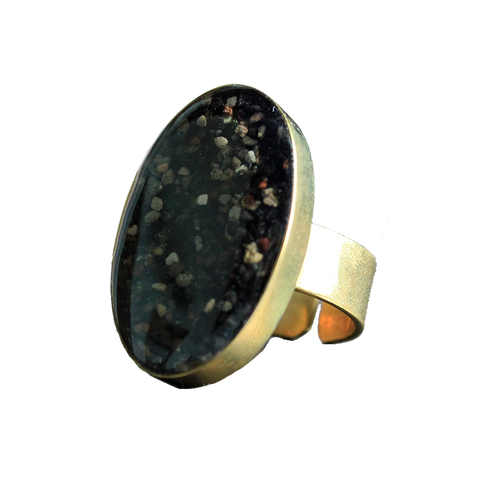 Cocktail Ring (Brass): The Azores
