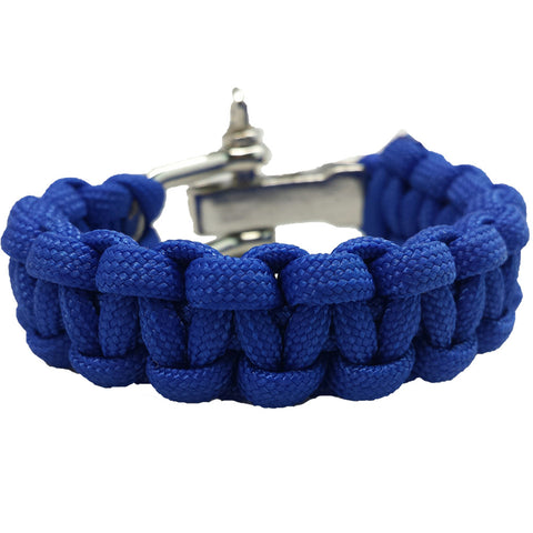 Classic Collection: Cobalt Blue Paracord Bracelet