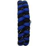 Fishtail Collection: Bi-Colour (Cobalt Blue/Reflective Black) Paracord Bracelet