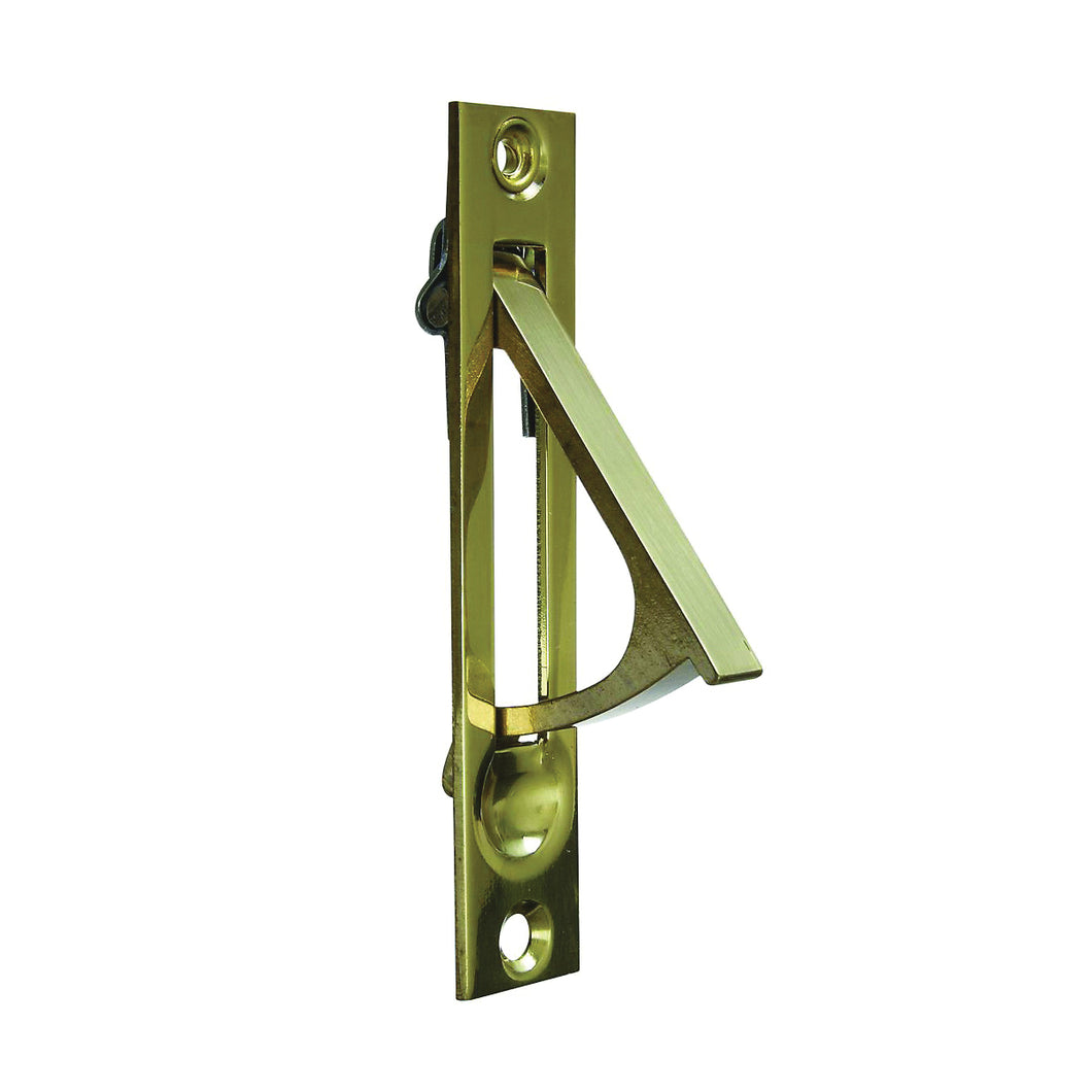 National Hardware N216-051 Door Edge Pull, 3/4 in W, Brass, Solid Brass