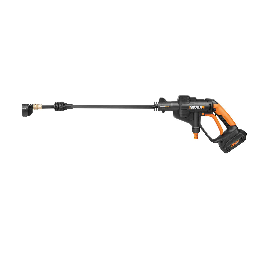 WORX WG629 Power Cleaner, 20 V Battery, 0.5 gpm, 94/320 psi Pressure